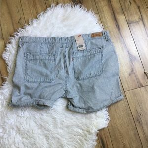 Levi's Railroad Stripe Shorts